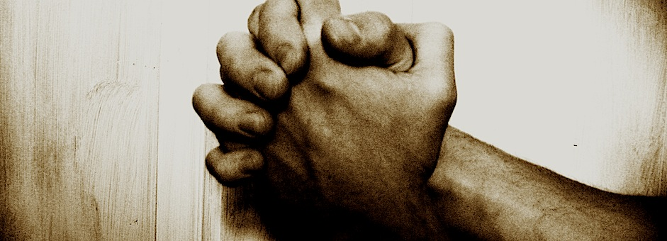 Picture of hands praying