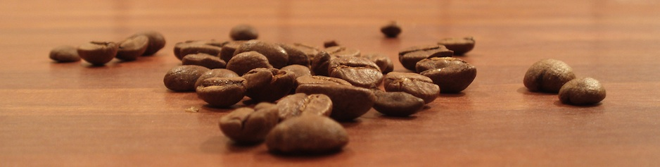 Picture of coffee beans, Eastside Church